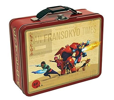 The Tin Box Company COK-76BH Disney Big Hero 6 Large Carry All Tin (The Tin Box Company Small)
