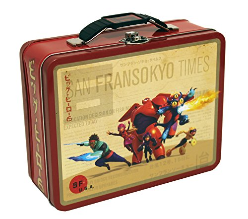 - The Tin Box Company COK-76BH Disney Big Hero 6 Large Carry All Tin
