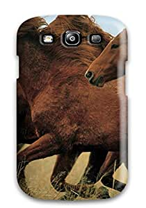 Our Melody WBGNh3401fTYzI Case Cover Galaxy S3 Protective Case Wild Horses Mustang