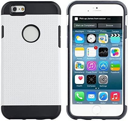 Iphone Armor Silver Black White product image