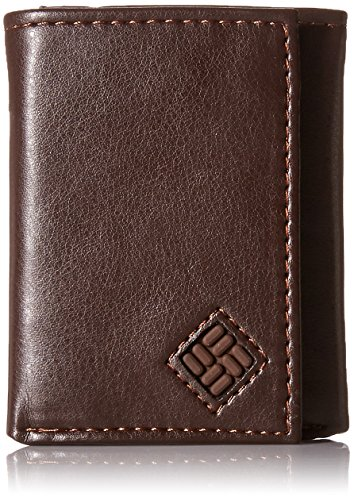 Men's RFID Leather Wallet - Big Skinny Trifold Vertical Security Protection Credit Card Slots and ID