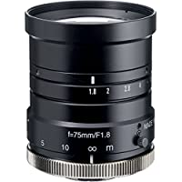 Kowa LM75HC 1 75mm F1.8 Manual Iris C-Mount Lens, 2 Megapixel