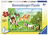 Ravensburger 09639 Mustang Meadow Jigsaw Puzzles (60 Piece)