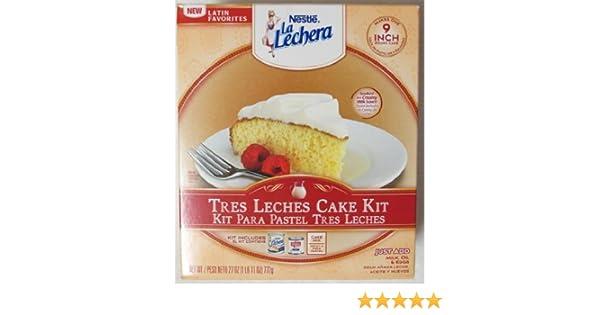 La Lechera Tres Leches Cake Kit