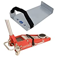 RB Components 2251 Racing Floor Jack Mount, Silver