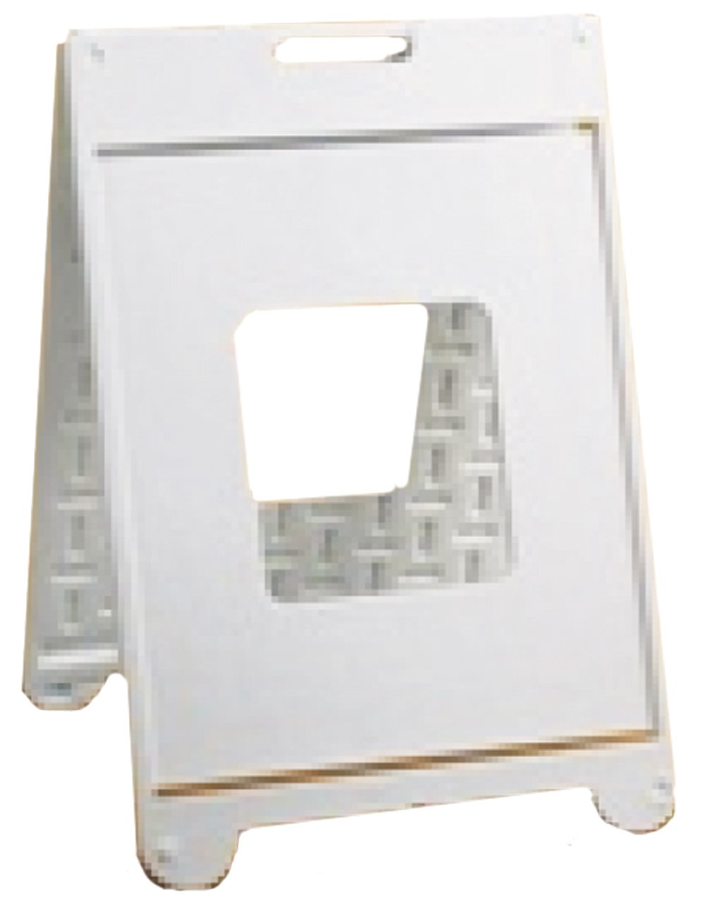 Lynch Signs 22 in. x 28 in. White Plastic Simpo Sign II by Lynch Signs (Image #1)