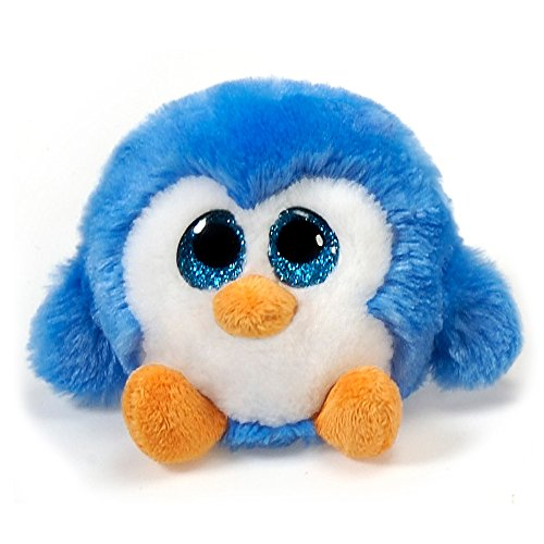 Fiesta Toys Lubby Cubbies Blue Berry The Penguin Plush Stuffed Toy - 3.5 Inches ()