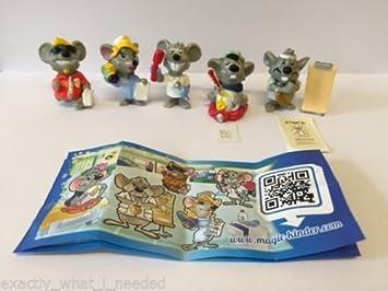 Kinder-Überraschung-Figuren Ratones Médicos completo Set edición limitada China año de colección 2014 - 5 figuras: Amazon.es: Juguetes y juegos