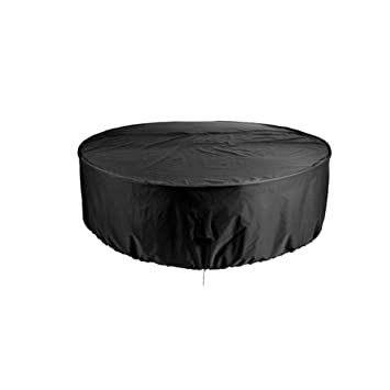 Housse Salon De Jardin Table Ronde, Housse De Protection Anti-UV ...