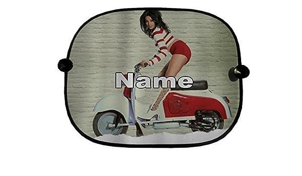 Personalizado Par de Ventana de coche Sun Shades patinete ...
