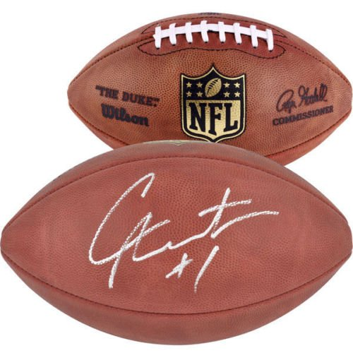 CAM NEWTON Carolina Panthers Autographed Authentic NFL Football FANATICS ()