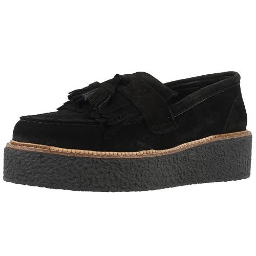 Mocasines para Mujer, Color Negro, Marca YELLOW, Modelo Mocasines para Mujer YELLOW Cannes Negro: Amazon.es: Zapatos y complementos