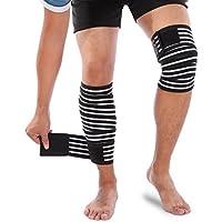 Yosoo Knee Wraps Patella Brace Support Thigh Leg Straps...