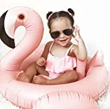 Oima Baby Flamingo Inflatable Pool Float - Inflatable Baby Infant Flamingo Swim Ring Pool Float - Popular Baby Infant Swimming Toy - Learn Swimming For Baby Infants (Toy)