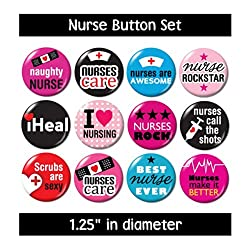 NURSING BUTTONS (set #3)