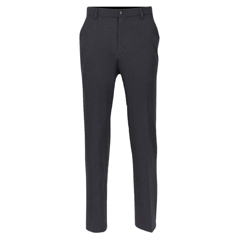 Greg Norman Men's Classic Pro-fit Pant, Black Heather, W: 40'' x L: 30'' by Greg Norman