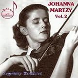 Johanna Martzy, Violon /Vol.2