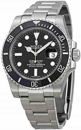 Rolex Submariner Date Black Dial Ceramic Bezel Men's Watch 116610LN