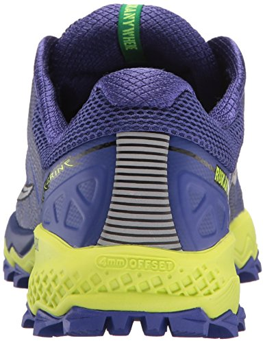 Trail Women's Shoe 7 Running Saucony Citron Blue Peregrine p6qSwwC