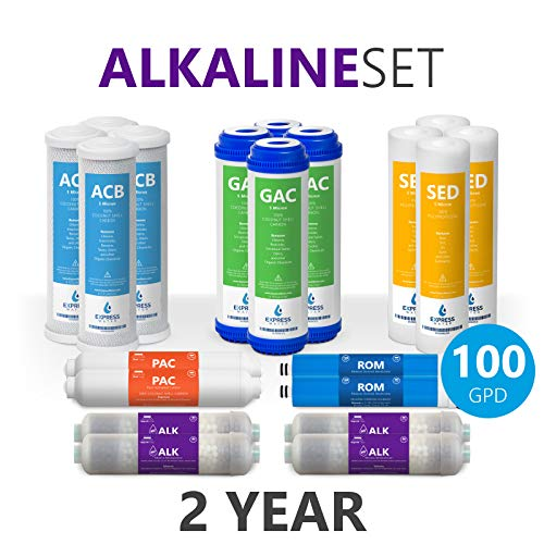 alkaline reverse osmosis system replacement