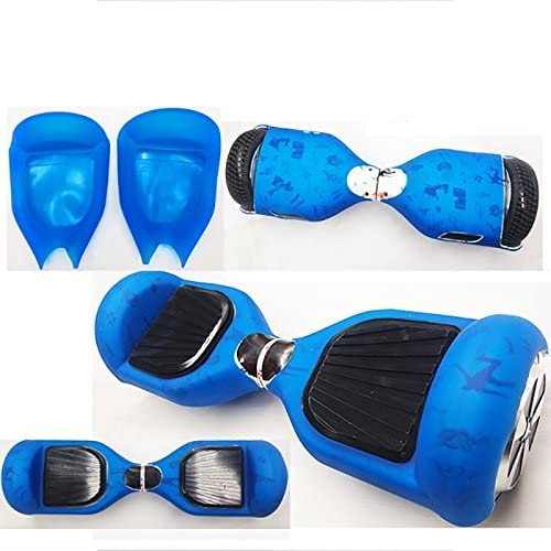 Flexible Silicone Case Cover for 6.5 inch Smart Self Balancing Electric Scooter Hoverboard