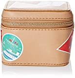 Fossil Jewelry Box Cosmetic Bag, Tan, One Size