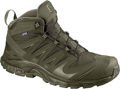 Mid Backpacking Boot Gtx (Salomon XA Forces Mid GTX Ranger Green Size 13)