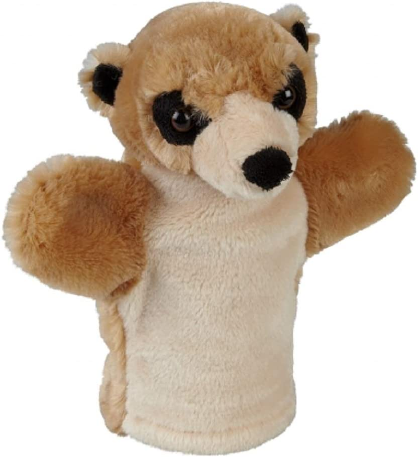 Ravensden Meerkat Plush Hand Puppet 24cm