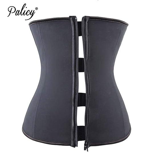 940f04eb7e1a8 HITSAN INCORPORATION Palicy Abdominal Belt High Compression Zipper Plus  Size Latex Waist Cincher Slimming Shapewear Body