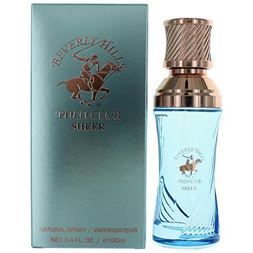 Beverly Hills Polo Club Sexy Sheer Eau de Parfum Spray for Women, 2.5 Ounce