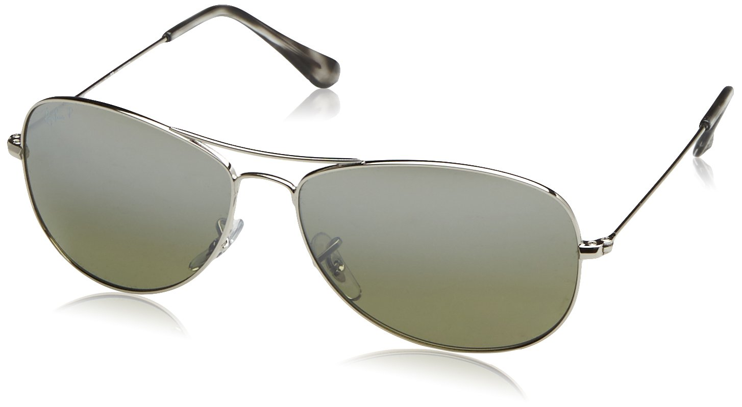 4096cde09698e Ray-Ban Unisex RB3562 Chromance Lens Pilot Sunglasses