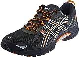 ASICS Men's Gel Venture 5 Running Shoe (10 D(M) US, Black/Shocking Orange/Duffel Bag)