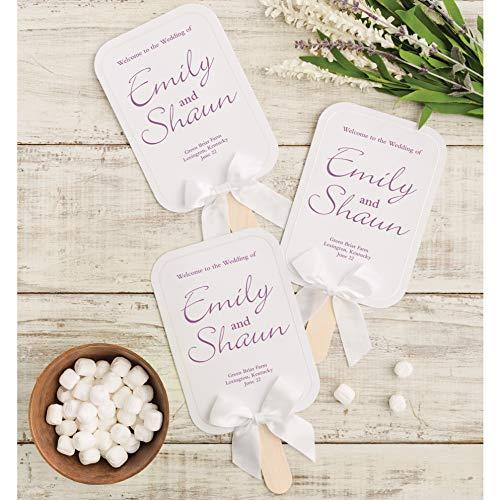 (Wilton White Wedding Fan Kit, 24pc, 5