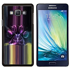 EJOOY---Cubierta de la caja de protección para la piel dura ** Samsung Galaxy A7 A7000 ** --Universo Paralelo Portales Espacio púrpura