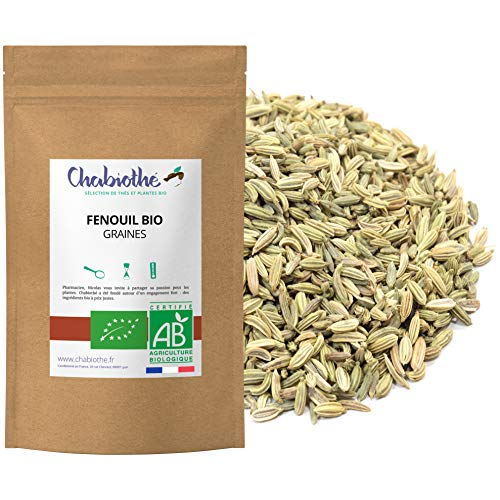 Hinojo Bio Semillas 200g - organico, bolsa biodegradable