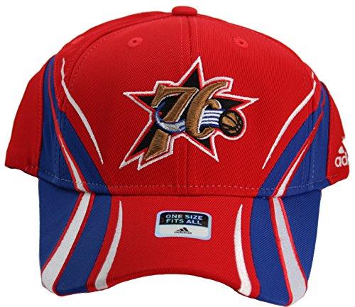 NBA Philadelphia 76ers Men's Adult One-Fit Flex Fit Hat Cap by adidas