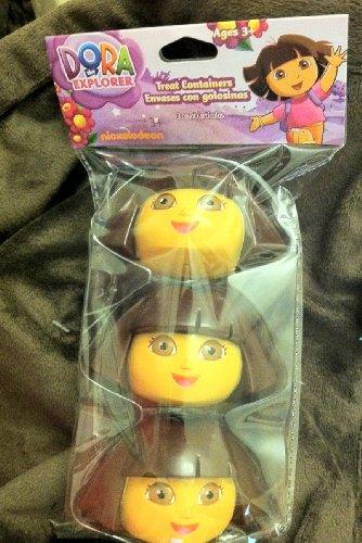 Dora the Explorer Shaped Plastic Easter Eggs 3 Pk.
