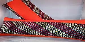 African Inspired Toss Pillows (Amber)