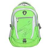 Zeraca Teen Girl Boy Laptop Bag Pack Bookbag for Middle High School College (Cabana Green)