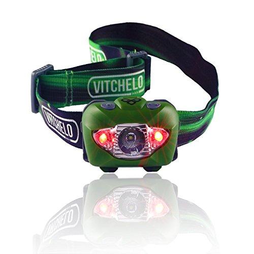 Vitchelo V800 Headlamp Flashlight Green product image