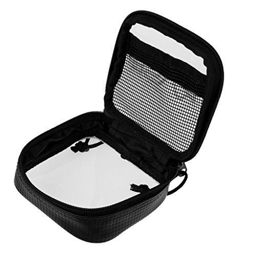 Gazechimp Wasserdicht Mini Aufbewahrung Tasche (Durchsichtig) für Zubehör, Tasche - S