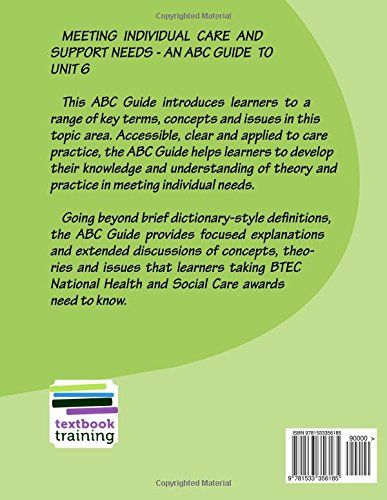 define specific needs in health and social care