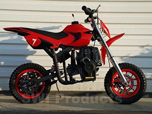 starmax 40cc Gas Powered Kids Mini Dirt Bike (Red) (Best Gas For Dirt Bike)
