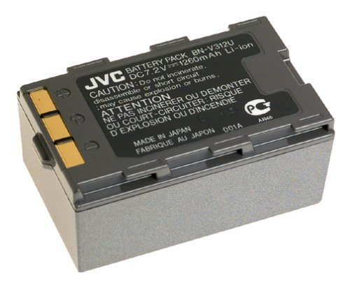 (JVC BN-V312U Lithium Ion Battery for GRDVM76/96 Camcorder)