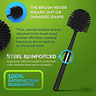 Tyroler Antibacterial Toilet Brush - steel