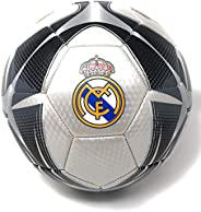 Real Madrid Soccer Ball Size 5 Official Licensed Futbol Silver 2019-2020 Great for Players, Fans, Trainers, Co