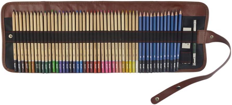 TFT sketching Kit de Dibujo Profesional, 52 Piezas de Madera Juego de Estuches de lápices de Plomo de Color, 36 Colores de Relleno de Plomo para Colorear Juego de Pintura artística: Amazon.es: