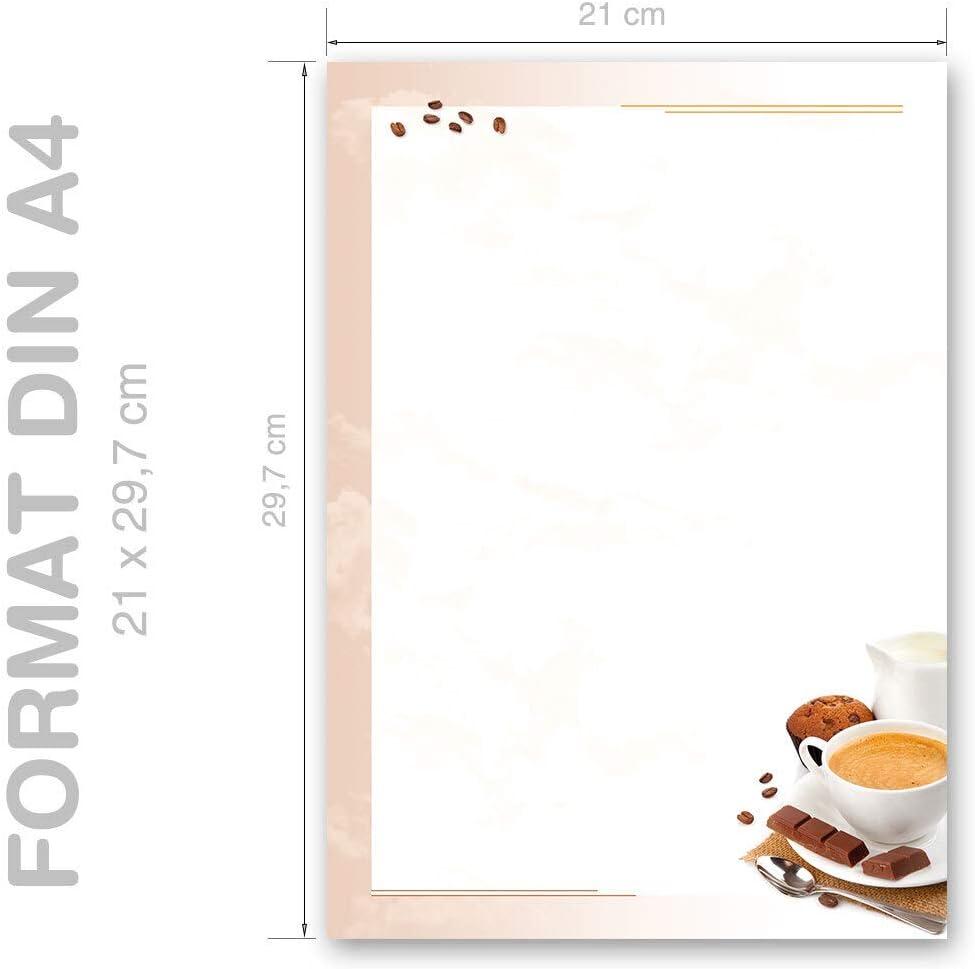 Papeterie de No/ël LETTRE AU P/ÈRE NO/ËL 250 feuille de papier DIN A4 90g//m/²