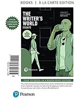The Writer s World  Essays   rd Edition
