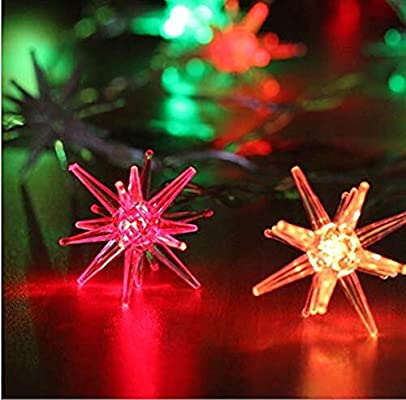 String Lights Light String Wedding Party Bedroom Decoration Lantern Led Explosion Planet Light Thorn Ball Home Outdoor Christmas Garden Romantic Size 1 2m10led Buy Online At Best Price In Uae Amazon Ae